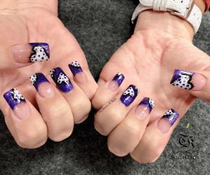 New Nail Design of Pink Polish Nails Bar